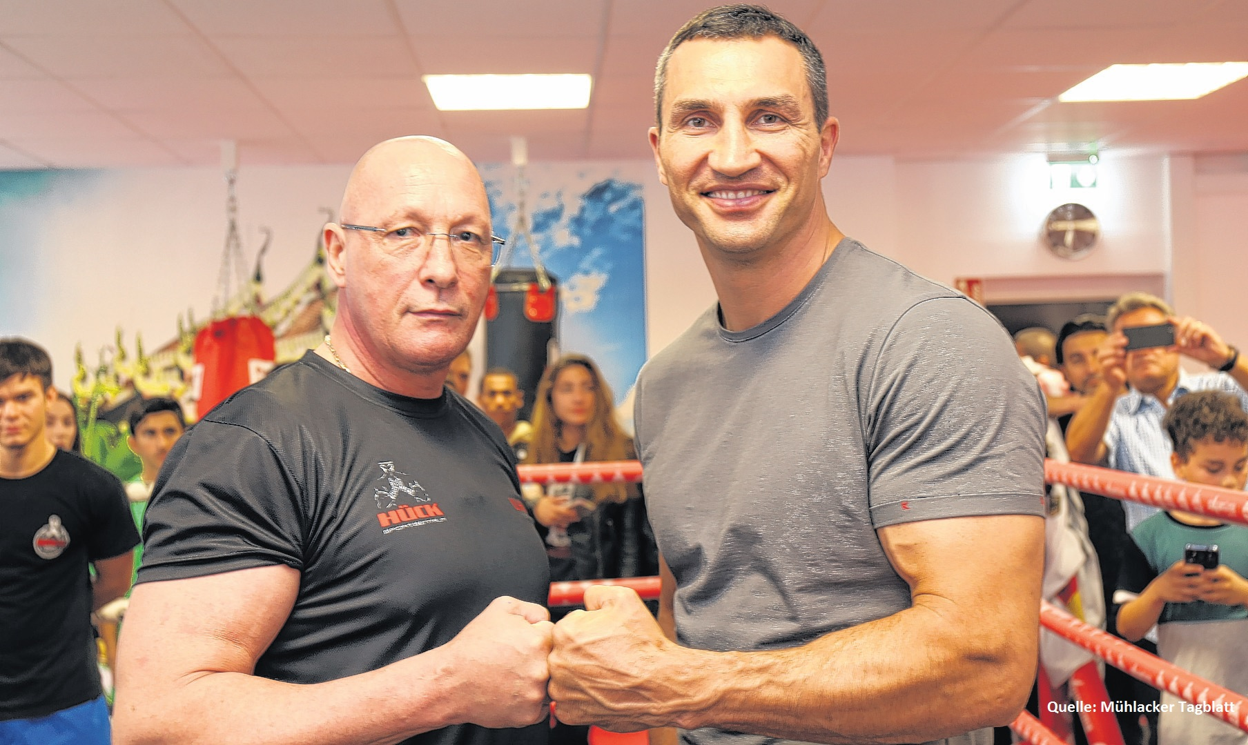 wladimir klitschko zu besuch in der lernstiftung h ck. Black Bedroom Furniture Sets. Home Design Ideas